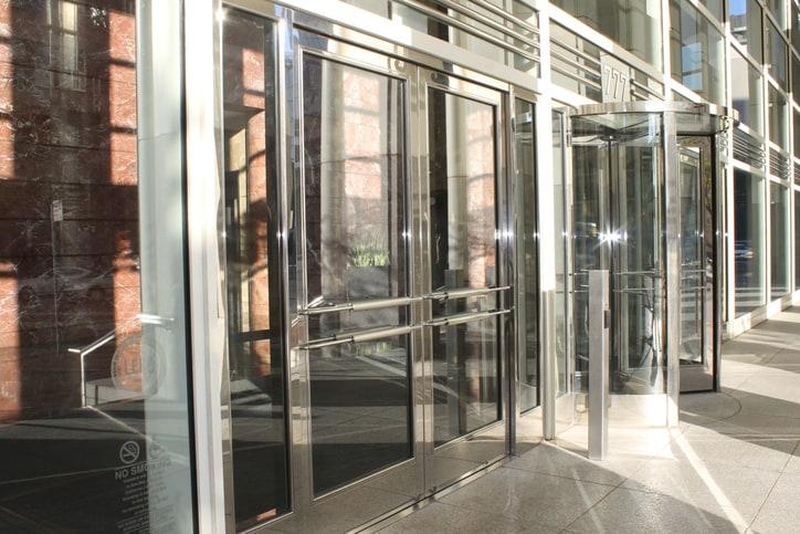 Skyscraper Revolving Glass Doors & Shopping Mall Front u2013 SP Glass Solutions pezcame.com