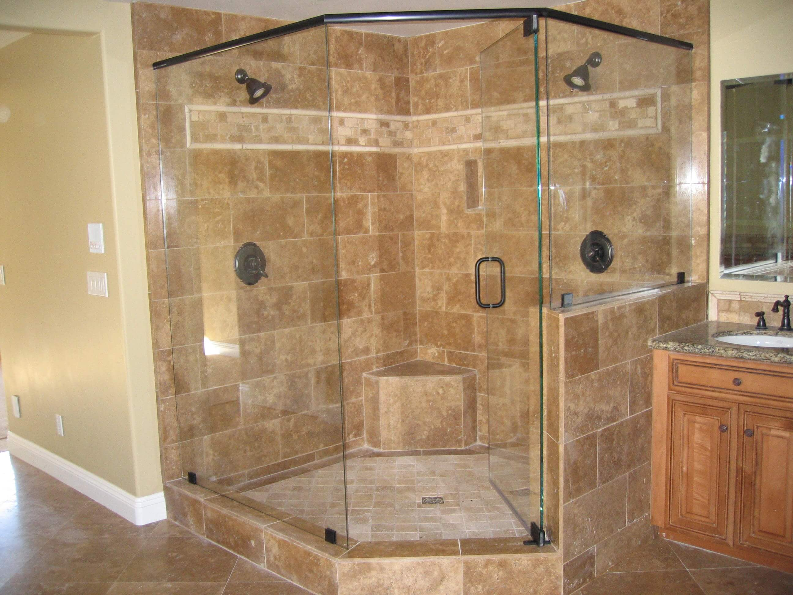 Shower Enclosures - SP Glass Solutions glass & mirror in Chicago