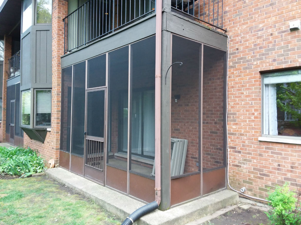 Screen Porch Sp Glass Solutions Glass Amp Mirror In Chicago